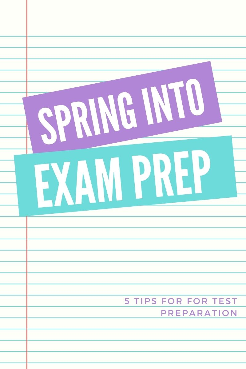 exam preparation exam season spring